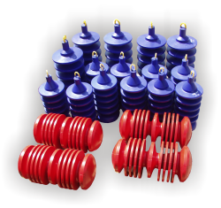Solid cast urethane pipeline pigs